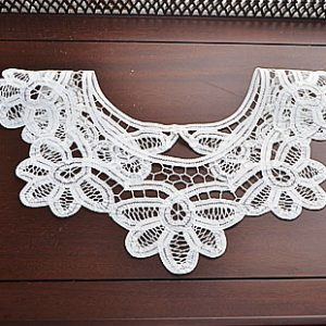 battenburg lace collar, lace collar, collar