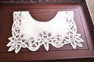 battenburg lace collar