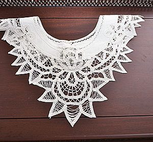 Battenburg Lace Collar # 823