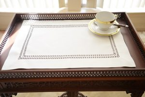 double twisted placemats