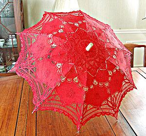 Lace parasols